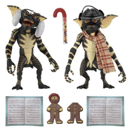"NECA Gremlins Christmas Carol 2 Pack 7"" Scale Action Figures - Set 2"